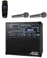 Audio 2000 AKJ7809 Singer's Power IX All-In-One Karaoke Machine