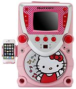 Hello Kitty 68109 CD Karaoke System with Screen